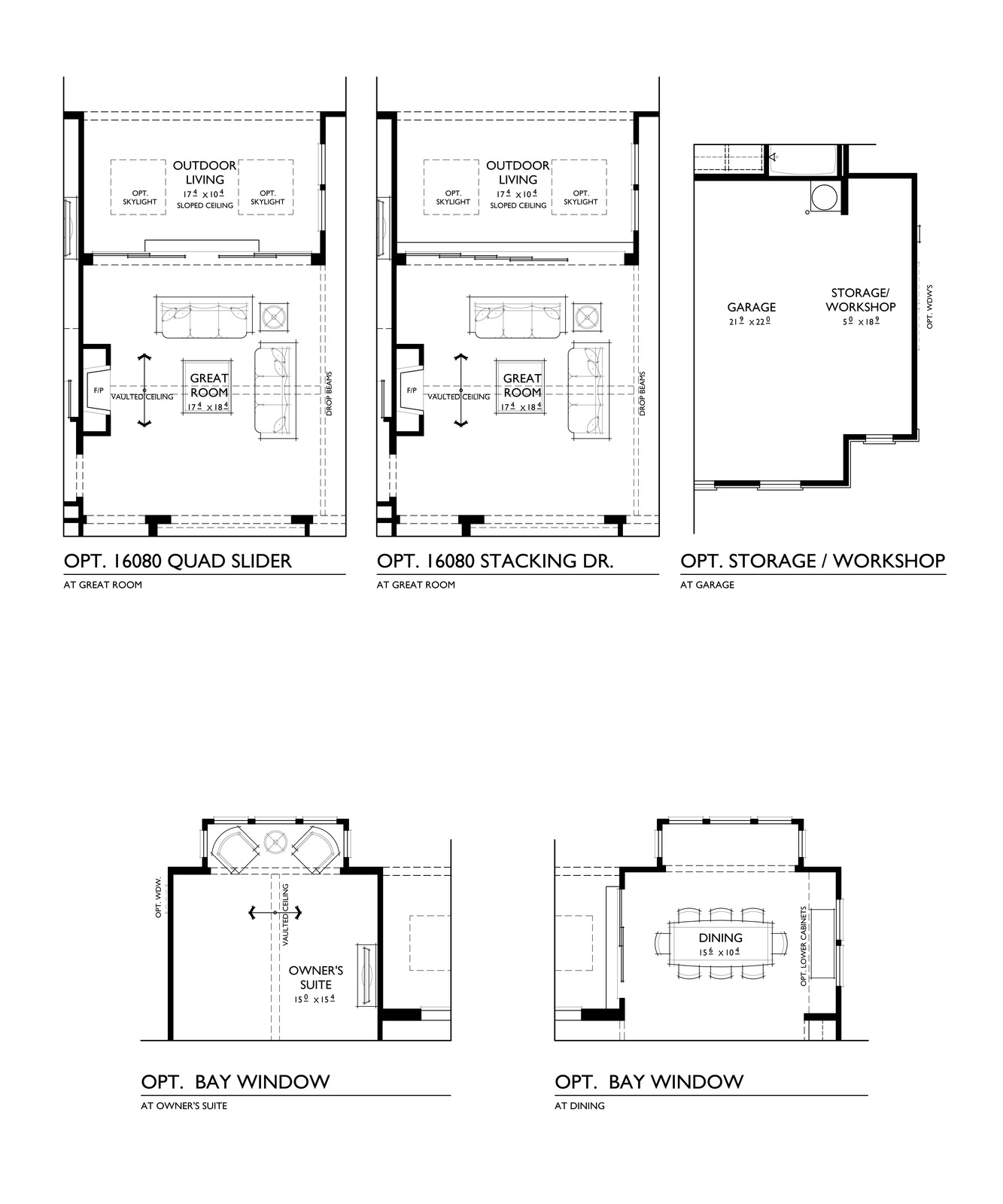 100 four different floor plans 118onmunjoyhill for Different floor plans