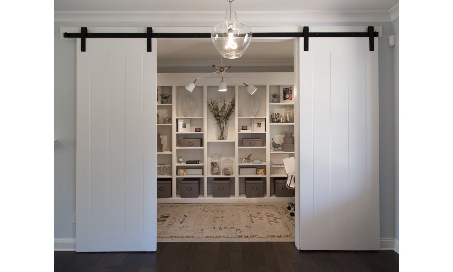 Tiburon - Barn Doors at Study