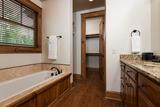 Master Bath Tub/Closet Upper Floor