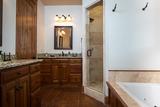 Master Bath Shower/Tub Upper Level