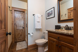 Guest Bath - Lower Level - open to bedroom & Media Room